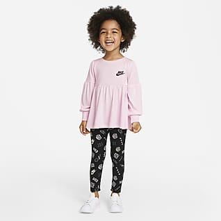 Nike Dvoudílná souprava pro batolata s tričkem a legínami