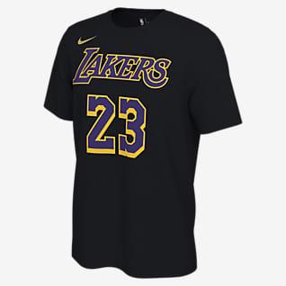 LeBron James Lakers Earned Edition Men's Nike NBA T-Shirt