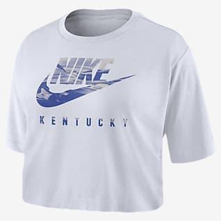 Nike College (Kentucky) Women's Cropped T-Shirt