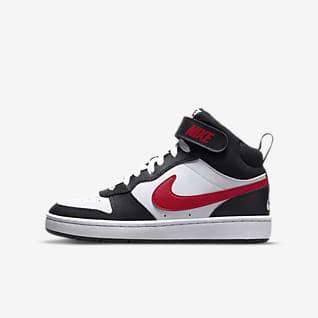 Nike Court Borough Mid 2 BG 大童运动童鞋