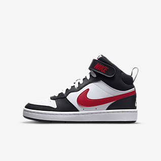 Nike Court Borough Mid 2 Big Kids' Shoe