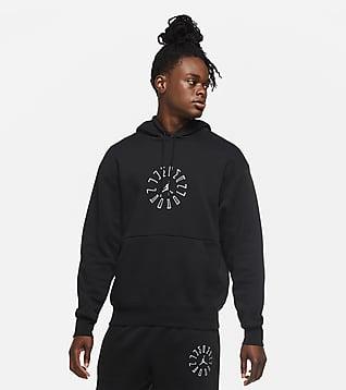 Jordan AJ11 Graphic Men's Fleece Pullover Hoodie