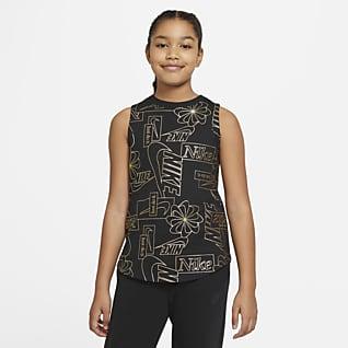 Nike Sportswear Big Kids' (Girls') Printed Tank