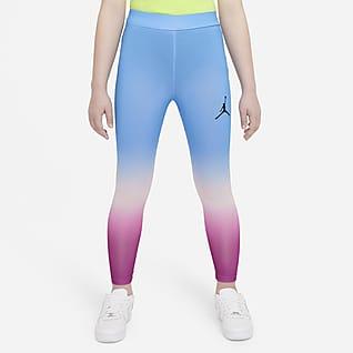 Jordan Leggings de cintura alta para niñas talla grande