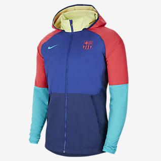 F.C. Barcelona Men's Graphic Football Jacket