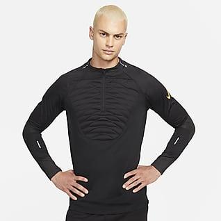 Nike Therma-Fit Strike Winter Warrior Pánské fotbalové tréninkové tričko