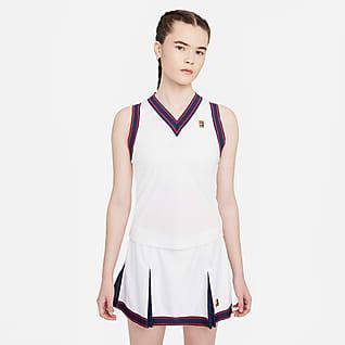 NikeCourt Dri-FIT Slam Camiseta de tirantes de tenis para mujer