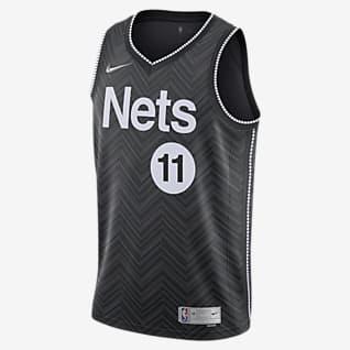 布鲁克林篮网队 (Kyrie Irving) Earned Edition Nike NBA Swingman Jersey 男子球衣