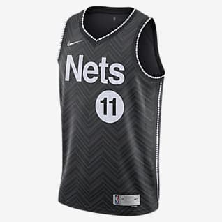 Kyrie Irving Nets Earned Edition Camiseta Nike NBA Swingman para hombre