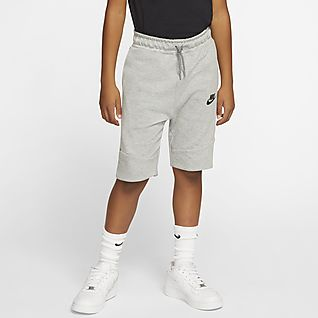 Nike Sportswear Tech Fleece Big Kids' Shorts