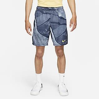 Nike Dri-FIT กางเกงเทรนนิ่งขาสั้นผู้ชายพิมพ์ลาย