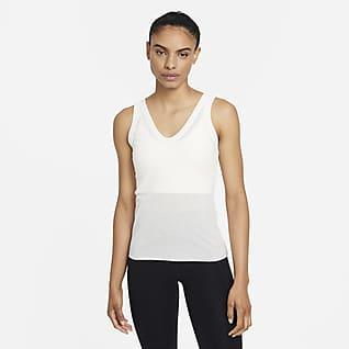 Nike Yoga Luxe Женская майка