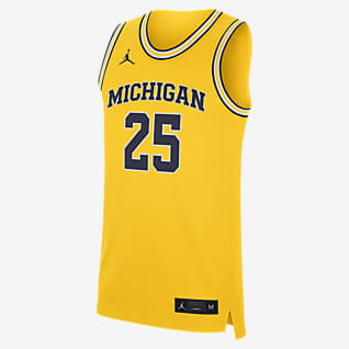 Jordan College Replica (Michigan) Men's Basketball Jersey