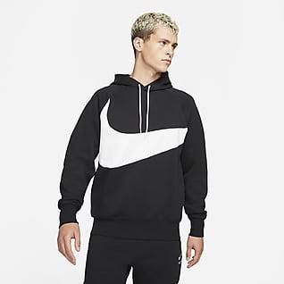 Nike Sportswear Swoosh Tech Fleece Sudadera con gorro sin cierre para hombre
