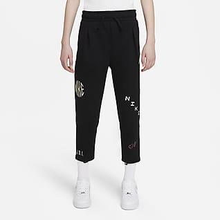 Nike Sportswear Укороченные брюки для девочек школьного возраста