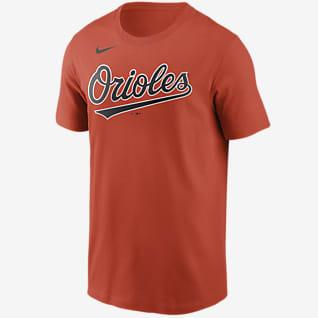 Nike Wordmark (MLB Baltimore Orioles) Men's T-Shirt
