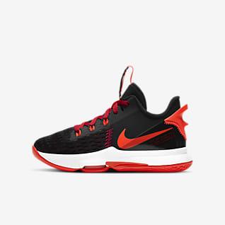 LeBron Witness 5 Big Kids' Basketball Shoe