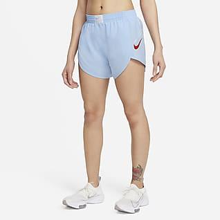 Nike Dri-FIT Retro Γυναικείο σορτς για τρέξιμο με επένδυση εσωτερικού σορτς