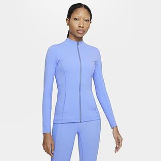Nike Yoga Luxe Dri-FIT 女子全长拉链开襟夹克