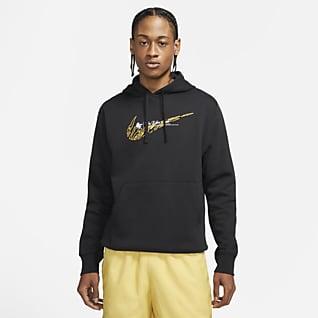 Nike Sportswear Club เสื้อมีฮู้ดผู้ชายแบบสวม