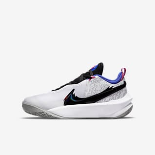 Nike Team Hustle D 10 SE x Space Jam: A New Legacy Older Kids' Basketball Shoe