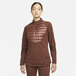 Nike Therma-FIT Academy Winter Warrior Женская футболка для футбольного тренинга