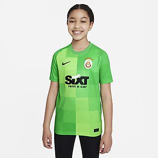 Galatasaray Goalkeeper Older Kids' Nike Dri-FIT Short-Sleeve Football Top
