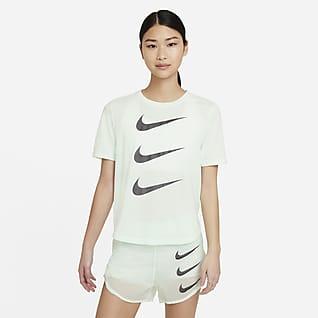 Nike Run Division 女子短袖跑步上衣