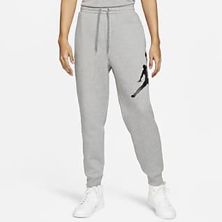 Jordan Jumpman Logo Pantalones de tejido Fleece para hombre