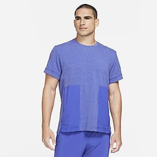 Nike Yoga Dri-FIT Haut à manches courtes pour Homme