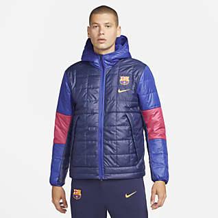 F.C. Barcelona Synthetic-Fill Men's Fleece Jacket