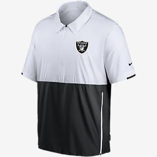 Nike Coach (NFL Las Vegas Raiders) Men's Short-Sleeve Jacket