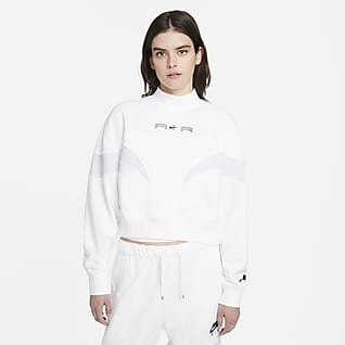 Nike Air Maglia in fleece con collo a lupetto - Donna