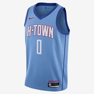 Houston Rockets City Edition Camiseta Nike NBA Swingman