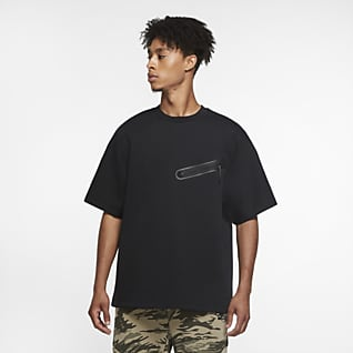 Nike Sportswear Tech Fleece Kısa Kollu Erkek Üstü