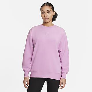 Nike Therma Женская флисовая футболка для тренинга