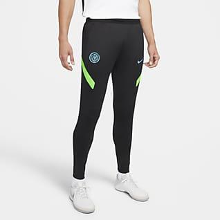 Inter Mediolan Strike Męskie dzianinowe spodnie piłkarskie Nike Dri-FIT