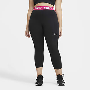 Nike Pro Leggings cropped para mujer (talla grande)