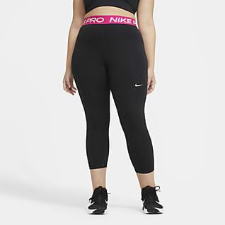 Nike Pro Women's Cropped Leggings (Plus Size)