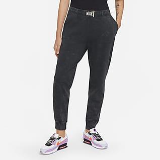 Nike Sportswear Γυναικείο παντελόνι με ξεθωριασμένη όψη