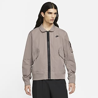 Nike Sportswear Premium Essentials Ανδρικό bomber τζάκετ χωρίς επένδυση
