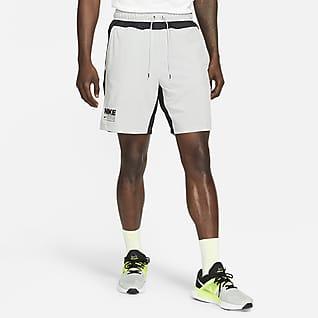Nike Flex กางเกงเทรนนิ่งขาสั้นผู้ชายมีกราฟิก