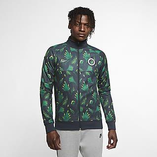 Nigeria Męska dresowa bluza piłkarska