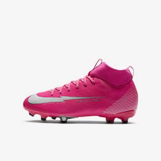 scarpe bambino calcio mercurial nike