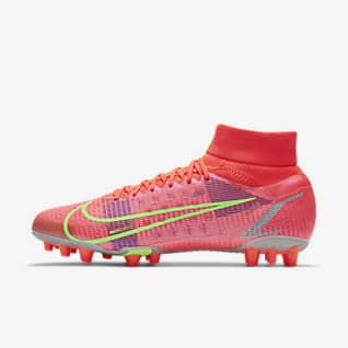 Nike Superfly 8 Pro AG 男/女人造草地足球鞋