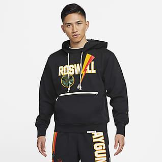 Nike Dri-FIT Rayguns เสื้อบาสเก็ตบอลมีฮู้ดผู้ชายระดับพรีเมียม
