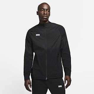 Nike F.C. AWF Vävd fotbollsträningsjacka för män