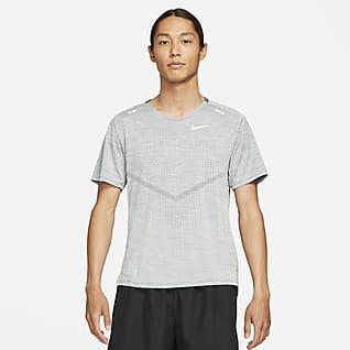 Nike Dri-FIT ADV Techknit Ultra 男款短袖跑步上衣