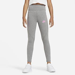 Nike Sportswear Favorites Big Kids' (Girls') High-Waisted Leggings