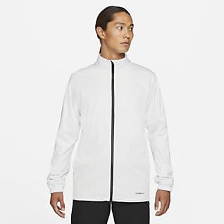 Nike Storm-FIT Victory Мужская куртка для гольфа с молнией во всю длину